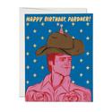 Red Cap Cards - RCC Birthday Pardner Card