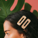 Nat + Noor - NAN Tortoise Hair Clips in Dandelion, Set of 2