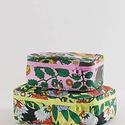 Baggu - BA Baggu Garden Pets Storage Cube, Set of 2
