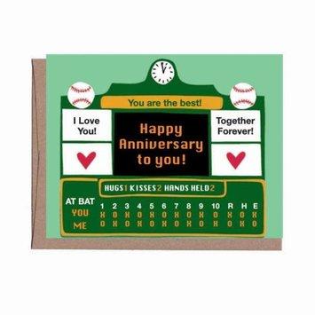 La Familia Green - LFG Score Board Anniversary Card