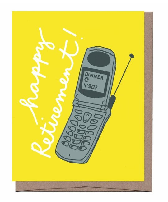 La Familia Green - LFG Flip Phone Retirement Card