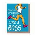 La Familia Green - LFG Running Into Your 30's Birthday Card