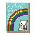 La Familia Green - LFG Pet Sympathy, Treats In Heaven Card