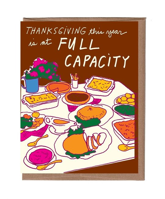La Familia Green - LFG Thanksgiving Full Capacity Card