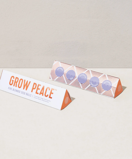 Modern Sprout - MOS Bright Side Seed Balls , Grow Peace