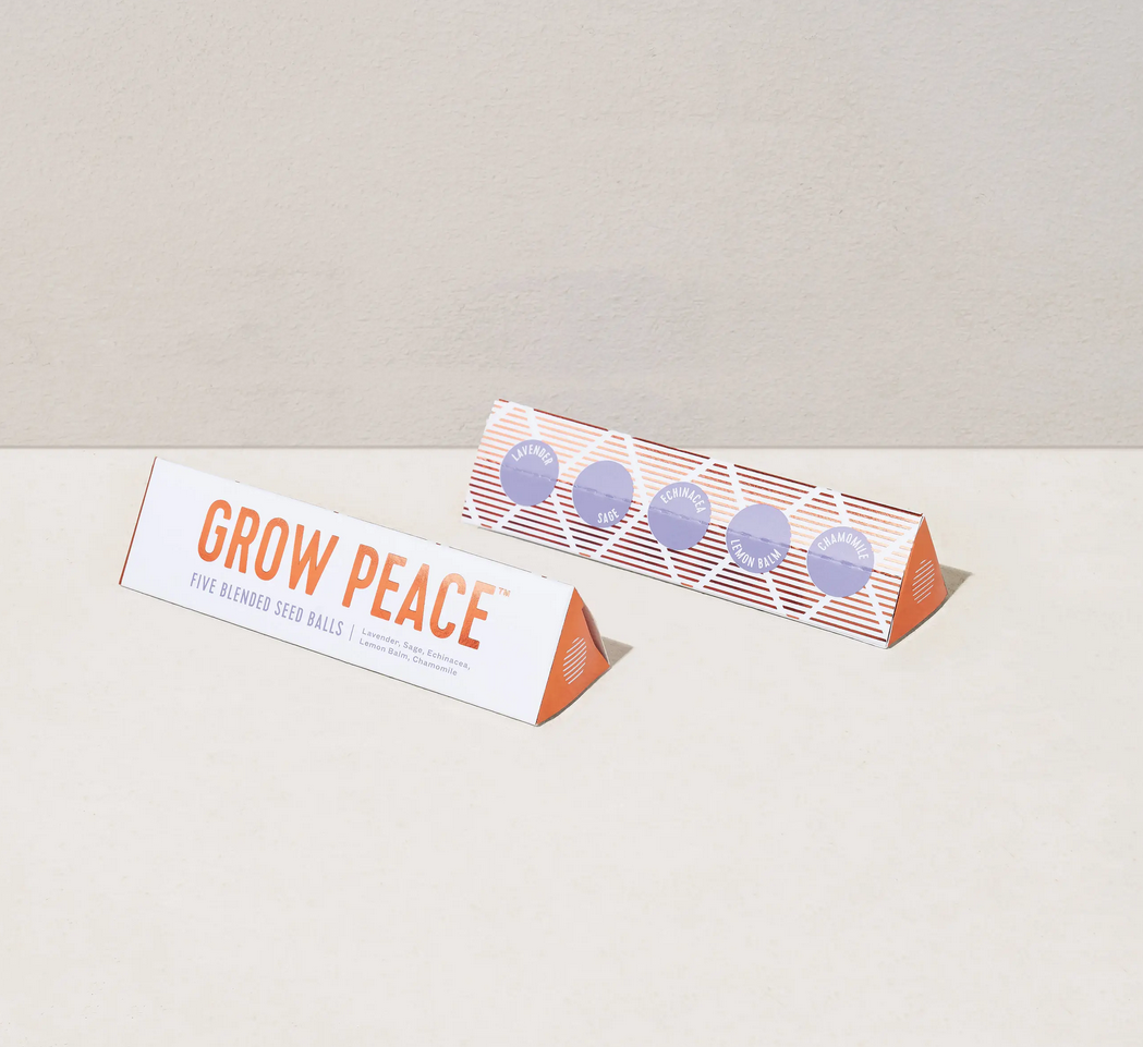 Modern Sprout - MOS MOS GI - Bright Side Seed Balls , Grow Peace