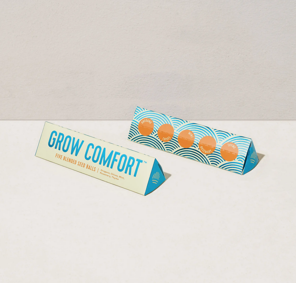 Modern Sprout - MOS Bright Side Seed Balls, Grow Comfort