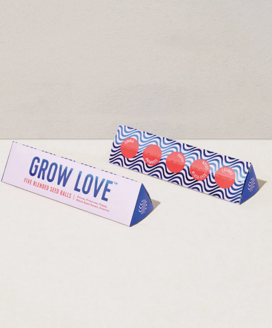 Modern Sprout - MOS Bright Side Seed Balls , Grow Love