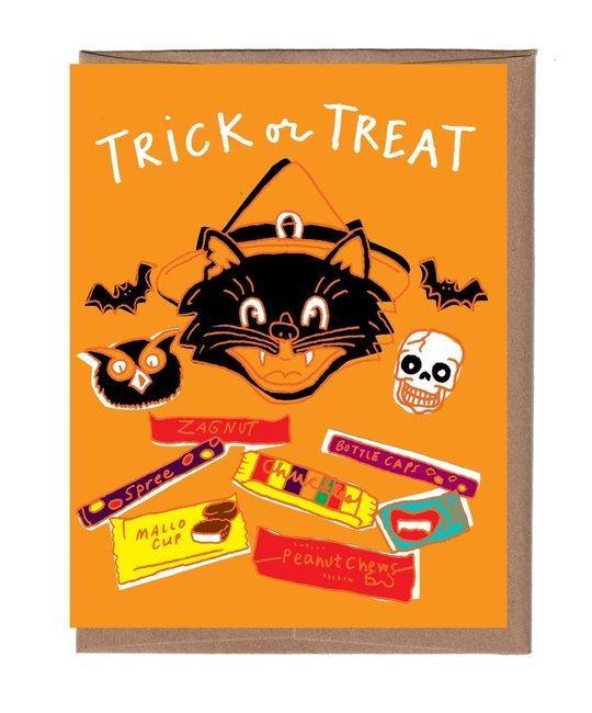 La Familia Green - LFG Retro Halloween Candy Card