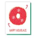 Kiss and Punch - KP Happy Holiglaze Christmas Card