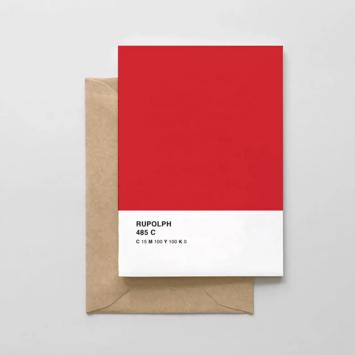 Spaghetti & Meatballs - SAM Rudolph Pantone Card