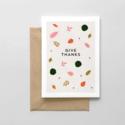 Spaghetti & Meatballs - SAM Give Thanks Thanksgiving Card