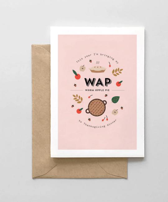 Spaghetti & Meatballs - SAM WAP Thanksgiving Card