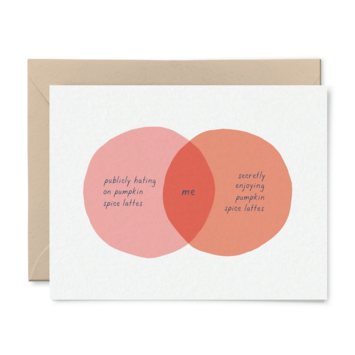 Tiny Hooray - TIH (formerly Little Goat, LG) PSL Venn Diagram Fall Card