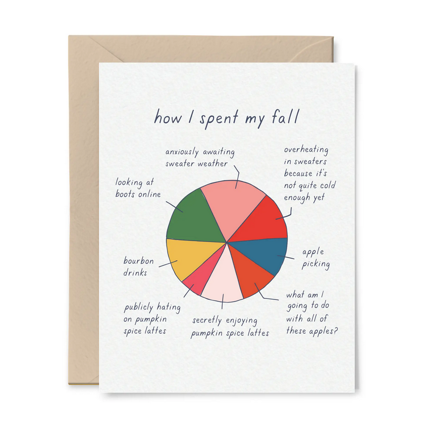 Tiny Hooray - TIH (formerly Little Goat, LG) How I Spent My Fall Card