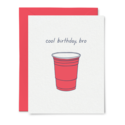 Tiny Hooray - TIH (formerly Little Goat, LG) Cool Birthday, Bro Card