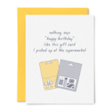 Little Goat Paper Co - LG Gift Cards Birthday Card