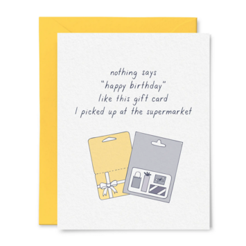 Tiny Hooray - TIH (formerly Little Goat, LG) Gift Cards Birthday Card