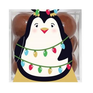 Sugarfina - SU Sugarfina - Penguin Sparkle Pops Small Cube, Holiday 2021
