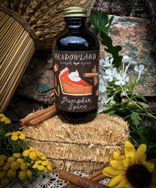 Meadowland - MEA Pumpkin Spice Simple Syrup