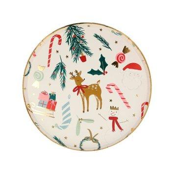 Meri Meri - MEM MEM PSHO - Festive Motif Small Plates