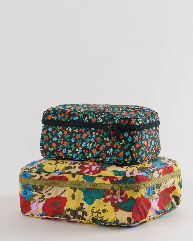 Baggu - BA Baggu Storage Cube, Set of 2, Attic Florals