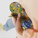 Baggu - BA Baggu Wallpaper Floral Puffy Glasses Sleeve