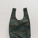Baggu - BA Baggu Black Calico Floral Standard Reusable Bag