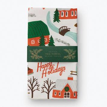 Rifle Paper Co - RP Rifle Paper Co - Christmas Tree Farm Tea Towel