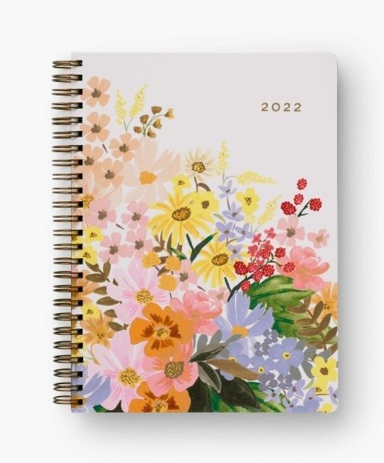 Rifle Paper Co - RP Rifle 2022  Marguerite Softcover Spiral Planner