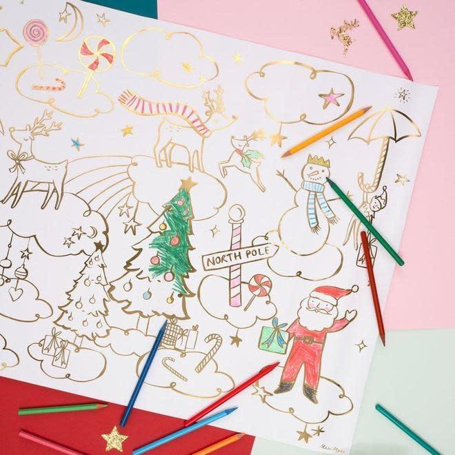 Meri Meri - MEM MEM DIY - Christmas Coloring Posters