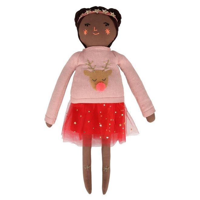 Meri Meri - MEM MEM TO - Holly Christmas Jumper Doll