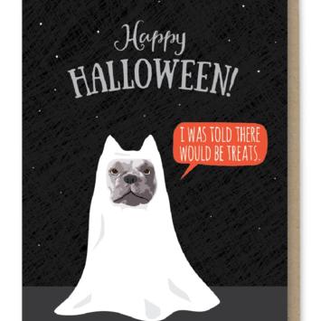 Modern Printed Matter - MPM Halloween Treats Bulldog