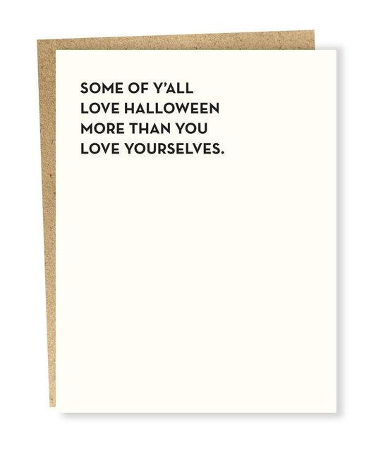 Sapling Press - SAP Love Halloween more than Yourselves