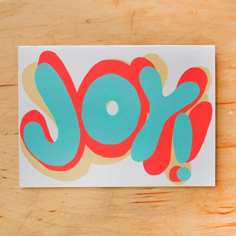 Gold Teeth Brooklyn - GTB Joy! Shadow Card