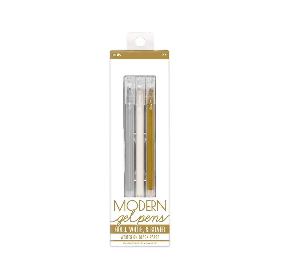 OOLY - OO Ooly - Modern Metallic Gel Pens, Set of 3