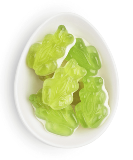 Sugarfina - SU SU FAD - Halloween Apple Frogs Gummies Small Cube