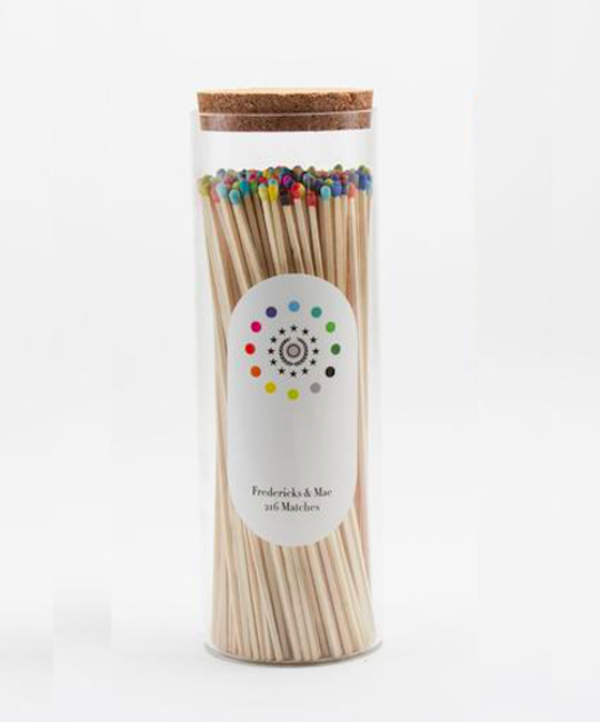 Fredericks and Mae - FAM FAM HG - 216 Long Matches Multi / Natural