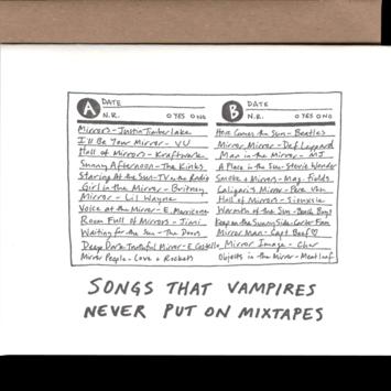 Power and Light Letterpress - PLL PLLGCHU0023 - Vampire Mixtape