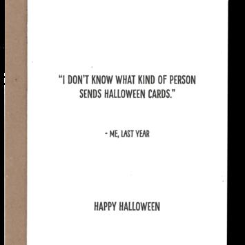 Power and Light Letterpress - PLL PLLGCHA0001 - Happy Halloween