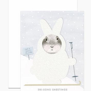 Dear Hancock - DH Ski-sons Greetings (Fluffy Snowsuit) Card