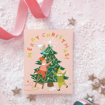 Idlewild Co - ID Elf Tree Holiday Card
