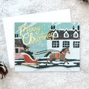 Idlewild Co - ID Sleigh Ride Cards, set of 8