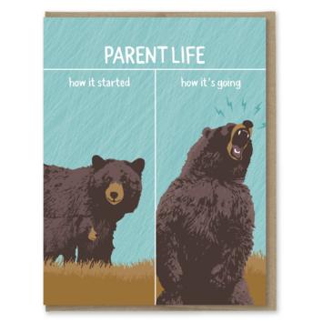 Modern Printed Matter - MPM How It's Going, Parent Life Card