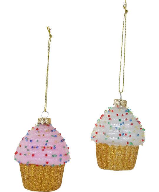 Cody Foster - COF Tiny Cupcake Glass Ornament
