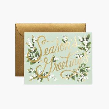 Rifle Paper Co - RP Rifle Paper - Mistletoe Season's Greeting