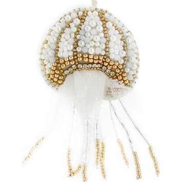 Cody Foster - COF Tinsel and Pearl Jellyfish Ornament