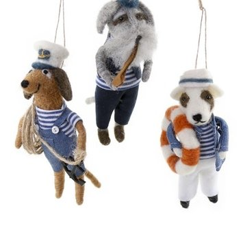 """Cody Foster - COF """"A Sailor Went to Sea"""" Assorted Ornament"""