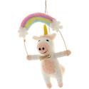 Cody Foster - COF Unicorn Over the Rainbow Ornament