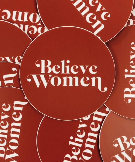 Golden Gems - GOG Believe Women Sticker